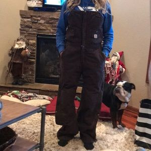 shop for authentic premium selection great variety styles Carhartt women's bib thermal overalls